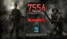 Mời tải 7554 - Game kỷ niệm đại thắng Điện Biên Phủ, đang miễn phí