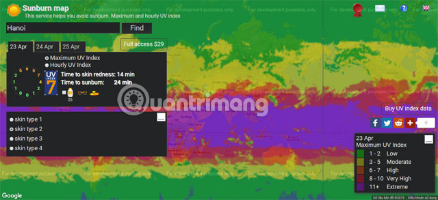Sunburnmap 1