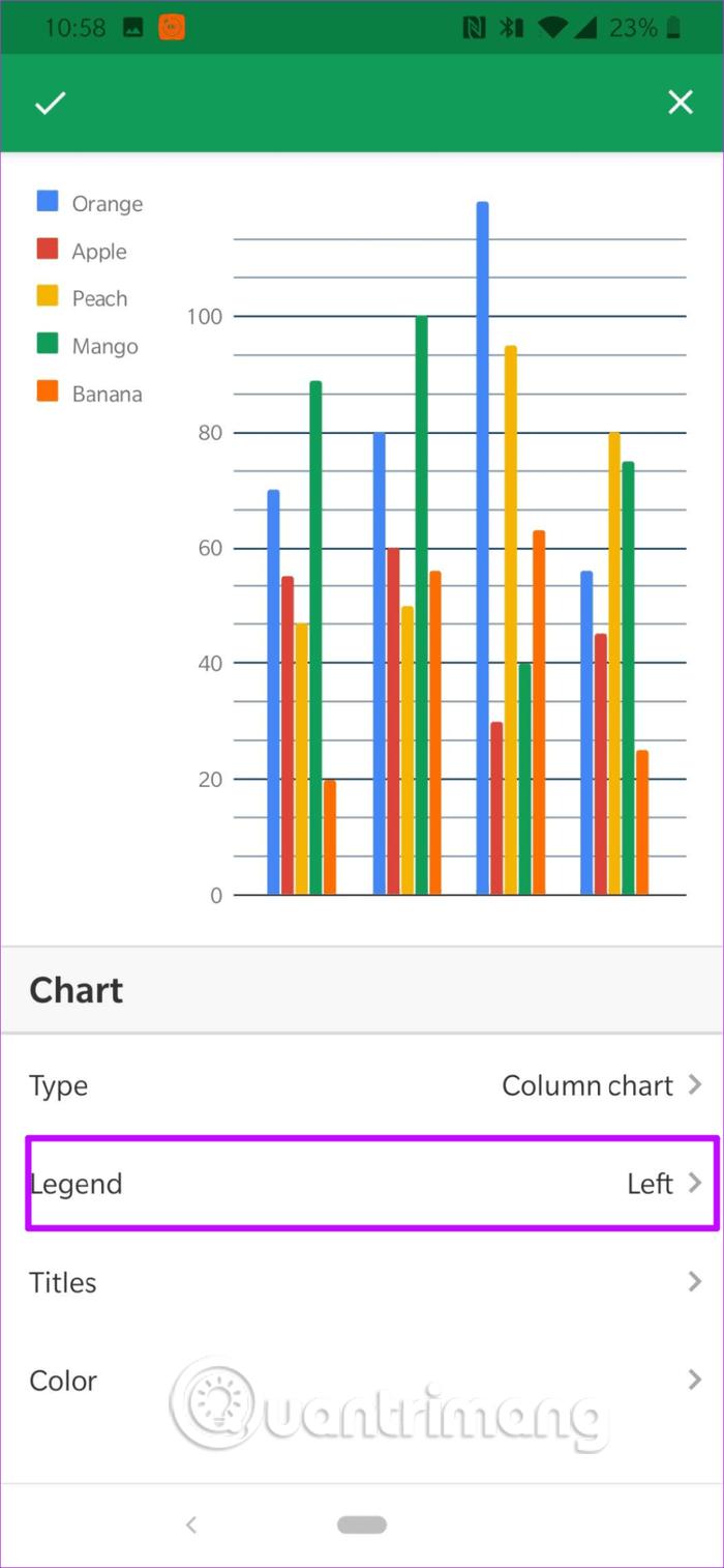 Cách chỉnh sửa ghi chú biểu đồ trong Google Sheets - Ảnh minh hoạ 5