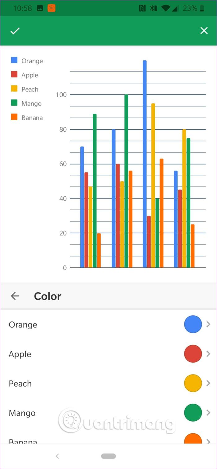 Cách chỉnh sửa ghi chú biểu đồ trong Google Sheets - Ảnh minh hoạ 7