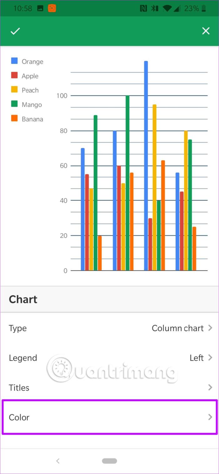 Cách chỉnh sửa ghi chú biểu đồ trong Google Sheets - Ảnh minh hoạ 6
