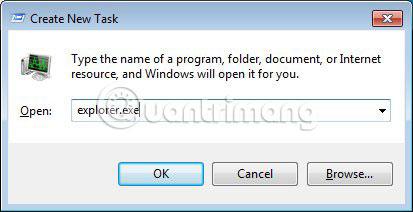 """Khởi động lại Windows Explorer khi hệ thống bị """"treo"""" - Ảnh minh hoạ 8"""