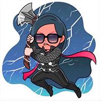 Cách dùng Sticker Avengers: Endgame trong Facebook Messenger