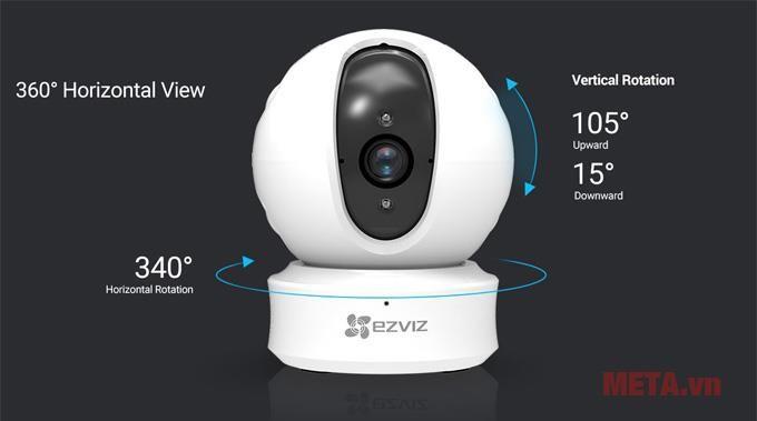 Multifunction Wifi Camera EZVIZ CS-CV246 ez360 (C6CN 720P)