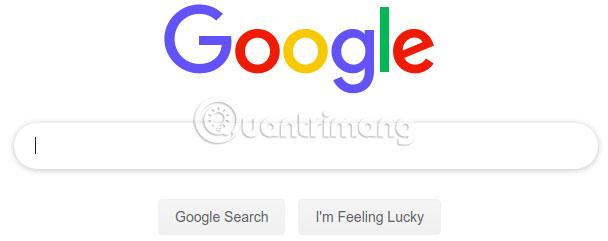 Nhấp vào Google Search