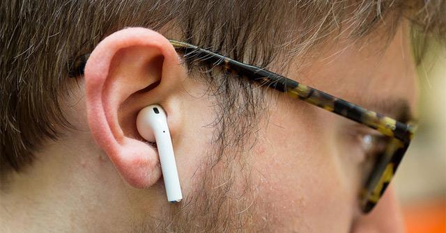 Wear wireless headphones