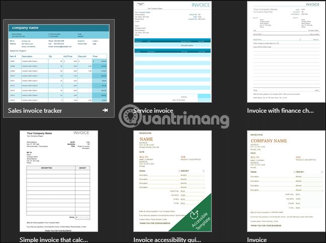 Cách tạo hóa đơn đơn giản trong Excel - Ảnh minh hoạ 3