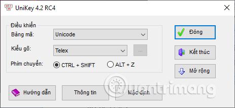 Kiểu gõ Unicode
