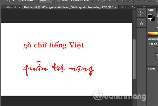 Gõ tiếng Việt bằng font VNI