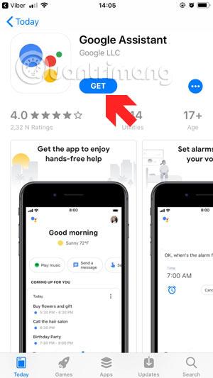 Nhận Google Assistant
