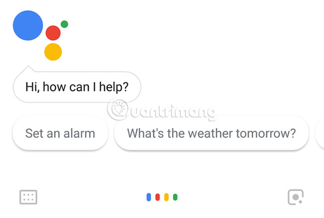 Giao diện Google Assistant