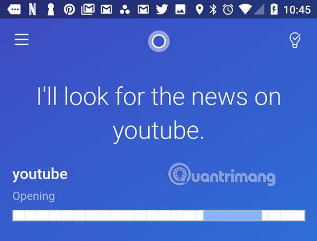 Cortana tích hợp tốt với Youtube