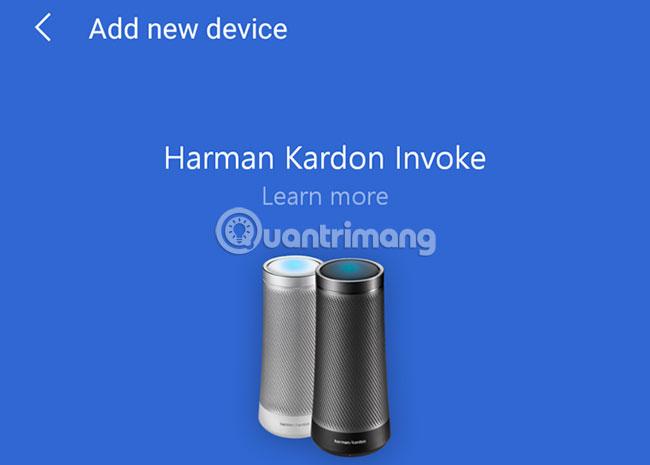 Cortana tương thích với 2 thiết bị