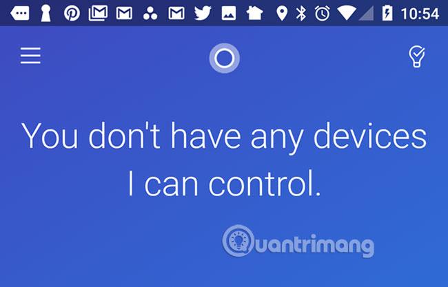 Cortana desktop tương thích với 11 thiết bị