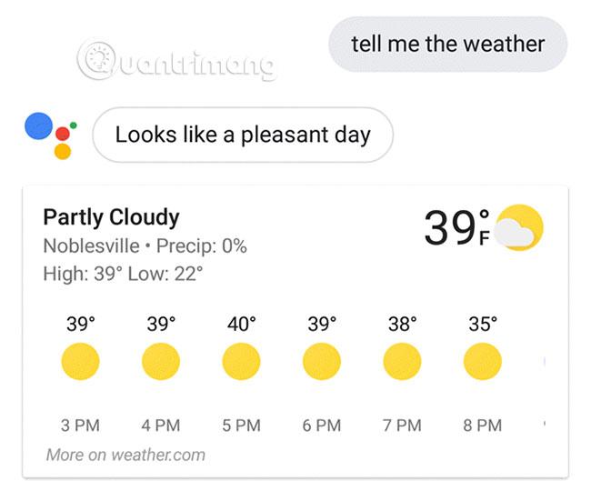 Kiểm tra thời tiết