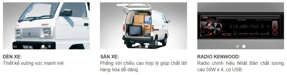 Xe tải Suzuki Carry Van 7
