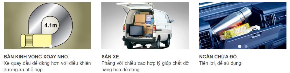 Xe tải Suzuki Carry Van 8