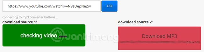 File MP3 đang được tải về máy tính