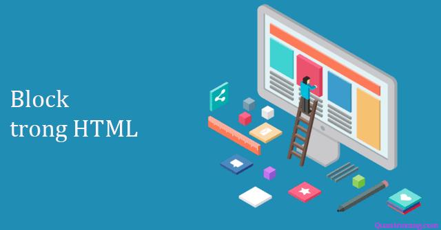 Phần tử khối và nội dòng trong HTML