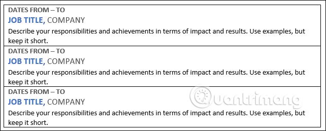 Cách tạo Resume trong Microsoft Word - Ảnh minh hoạ 15