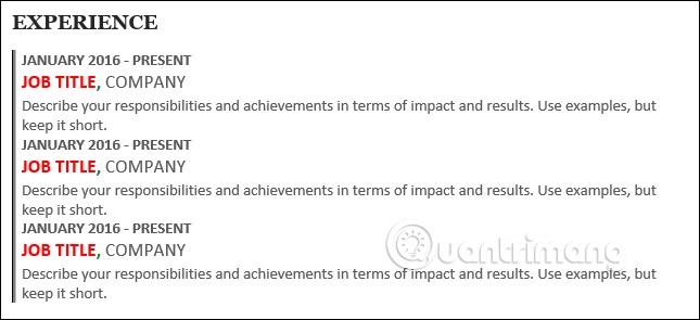 Cách tạo Resume trong Microsoft Word - Ảnh minh hoạ 19