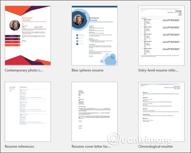Cách tạo Resume trong Microsoft Word - Ảnh minh hoạ 2
