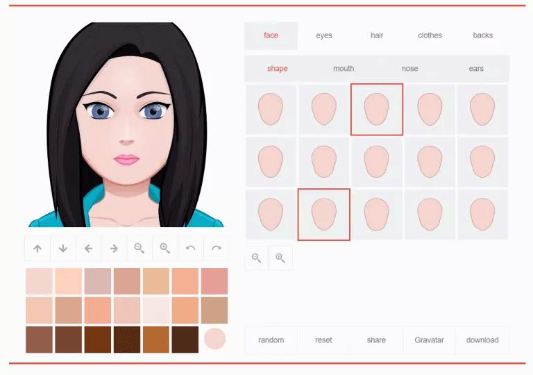 Trang web Avatar Maker