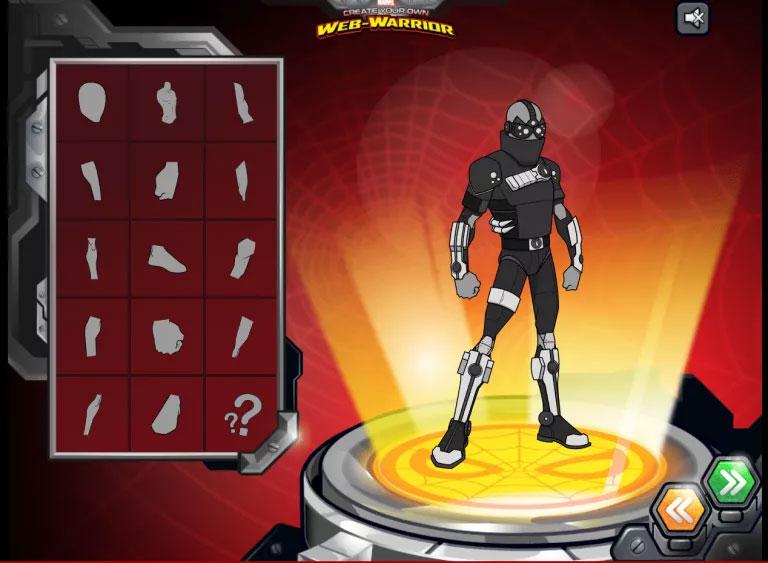 Trang web Marvel Superhero Avatar