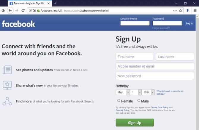 Cách truy cập Facebook qua mạng Tor - Ảnh minh hoạ 3