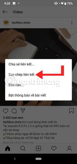 Cách tải ảnh và video trên Instagram trên Android để chia sẻ cho bạn bè - Ảnh minh hoạ 3
