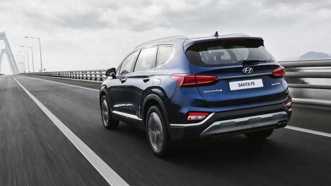 Xe Hyundai SantaFe 2019 8