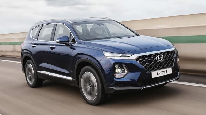 Xe Hyundai SantaFe 2019 9