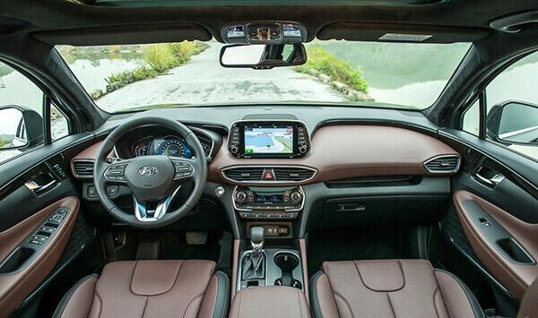 Xe Hyundai SantaFe 2019 11