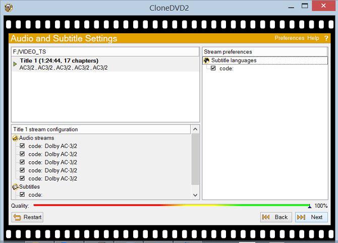 Phần mềm CloneDVD và CloneBD