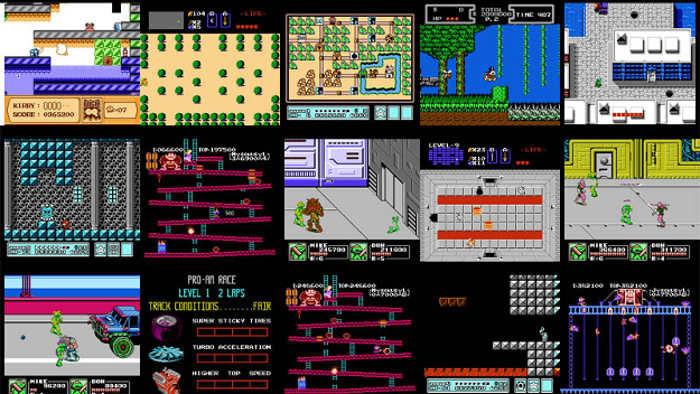 Trình bảo vệ màn hình NES Screen Saver