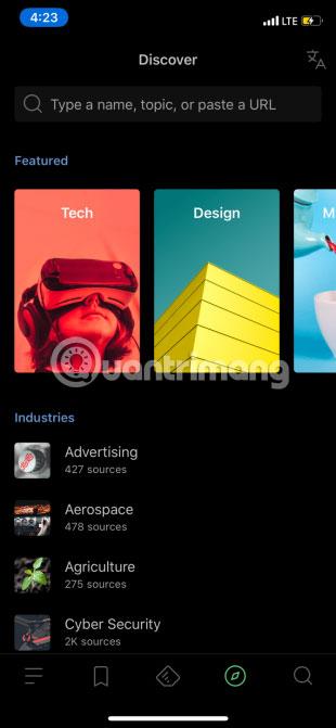 Ứng dụng Feedly trên iPhone cũng khá ổn cho hầu hết người dùng