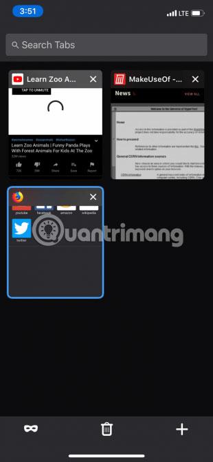 chế độ Dark Mode cũng sẽ áp dụng cho giao diện người dùng và trang web của trình duyệt