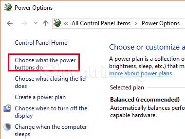 Cách tắt Fast Startup trên Windows 10 và Windows 8.1/8