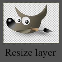 Cách thay đổi kích thước layer trong GIMP