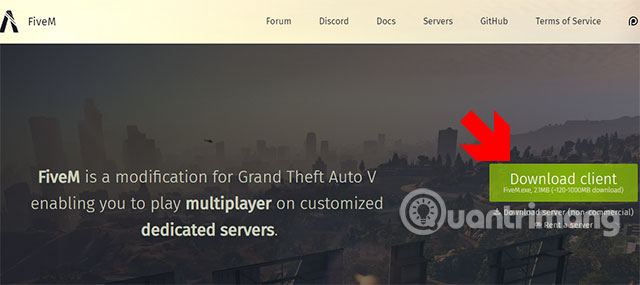 GTA V Roleplay Client