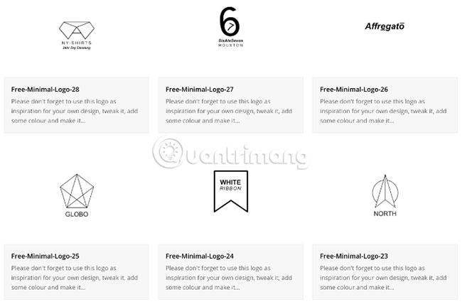 Free Minimal Logos