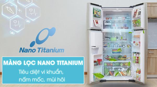 Tủ lạnh Hitachi 540 lít r-w660pgv3 4