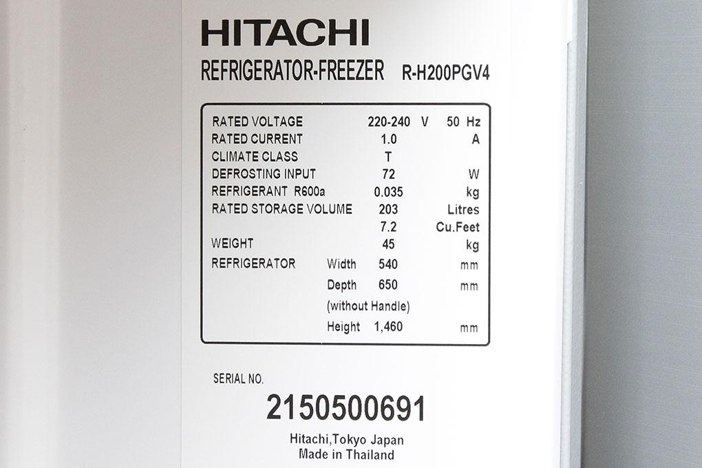 Tủ lạnh Hitachi 230 lít r-h230pgv4 8