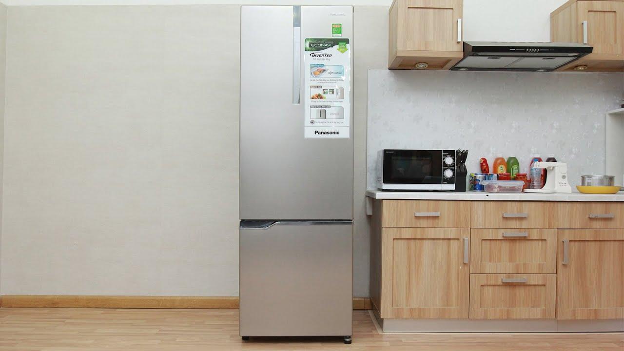 Tủ lạnh Panasonic với kiểu dáng đơn giản mà hiện đại