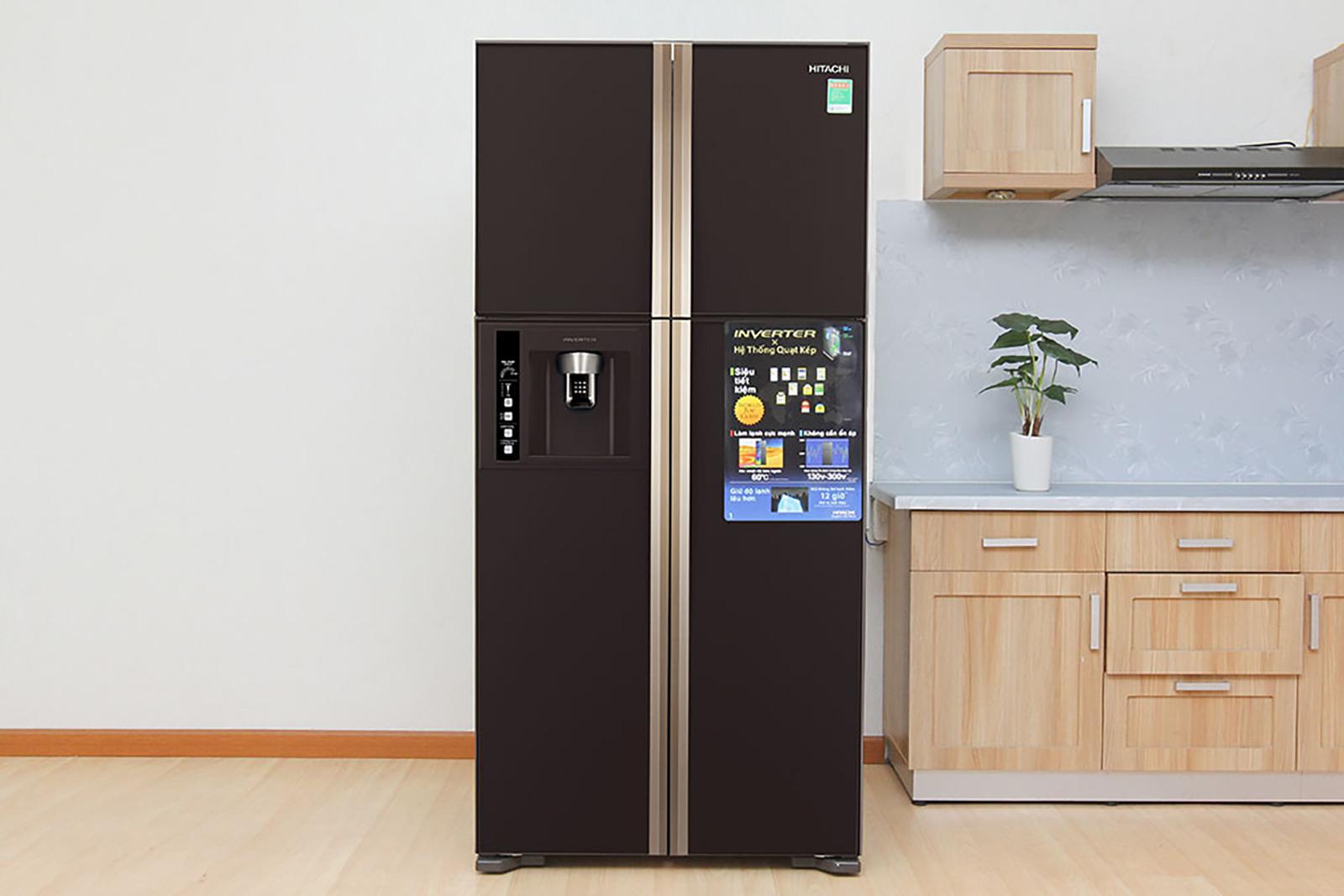 Tủ lạnh Hitachi với thiết kế sang trọng tinh tế