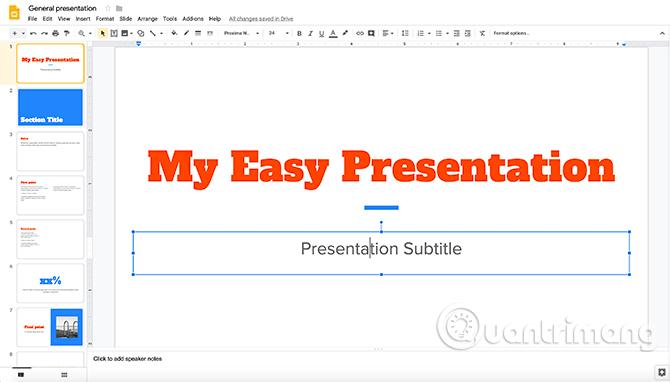 Cách tạo bài thuyết trình trong Google Slides - Ảnh minh hoạ 10