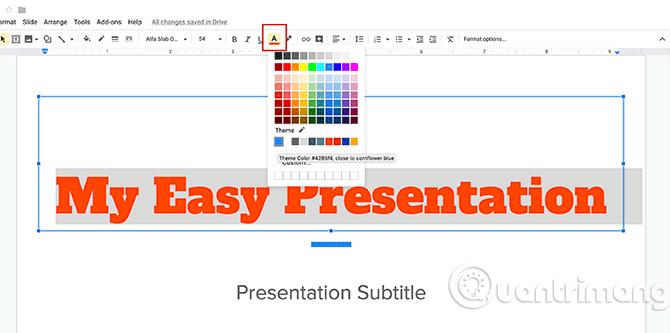 Cách tạo bài thuyết trình trong Google Slides - Ảnh minh hoạ 11