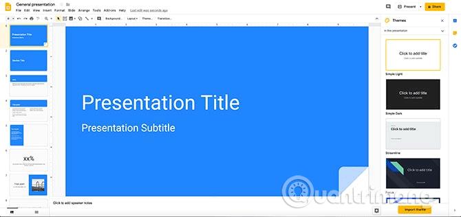 Cách tạo bài thuyết trình trong Google Slides - Ảnh minh hoạ 3
