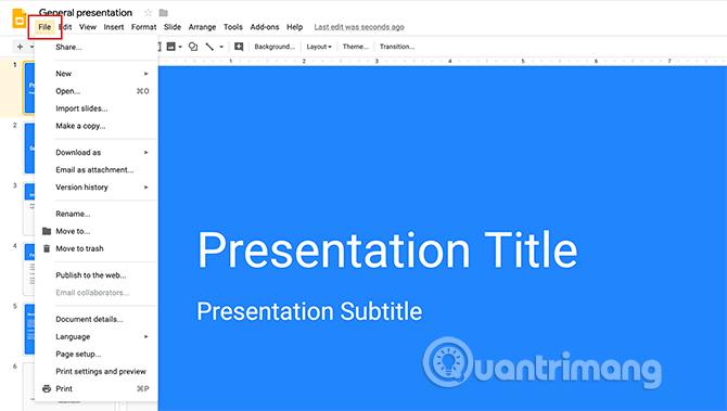 Cách tạo bài thuyết trình trong Google Slides - Ảnh minh hoạ 4