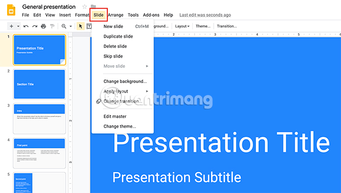 Cách tạo bài thuyết trình trong Google Slides - Ảnh minh hoạ 7